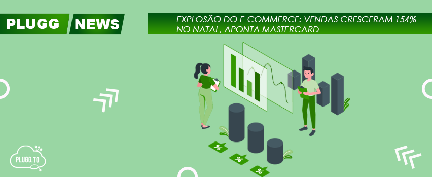Explosão do E-commerce: Vendas cresceram 154% no Natal