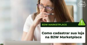 vender na b2w marketplace